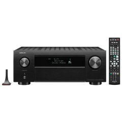 Denon AVCX4700H Black 9.2ch 8K AV Amplifier with 3D Audio, HEOS Built-in and Voice Control
