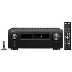 Denon AVCX6700H Black 11.2ch 8K AV Amplifier with 3D Audio, HEOS Built-in and Voice Control