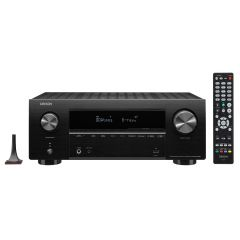 Denon AVRX2700H Black 7.2ch 8K AV Receiver with 3D Audio, HEOS Built-in and Voice Control