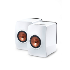 KEF LS50 WIRELESS Gloss White Active Speakers