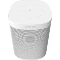 Sonos ONE (GEN2) White The Powerful Smart Speaker With Voice Control Built-In.