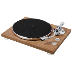 Teac TN400BT Walnut Analogue Turntable With Bluetooth