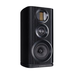Wharfedale EVO4.2 Black Oak Bookshelf Speakers
