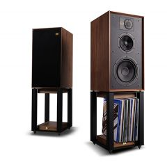 Wharfedale LINTON Walnut Heritage Speakers