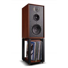 Wharfedale LINTON STANDS Walnut Matching Speaker Stands For Wharfedale Linton Heritage Speakers