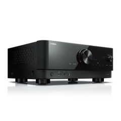 Yamaha RXV4A Black 5.2 ch AV receiver with CINEMA DSP 3D, HDMI™ 4-in/1-out, wireless surround.